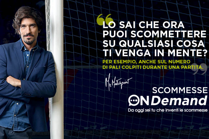 Sisal Matchpoint lancia le scommesse on demand. M&C Saatchi e Omd firmano la campagna