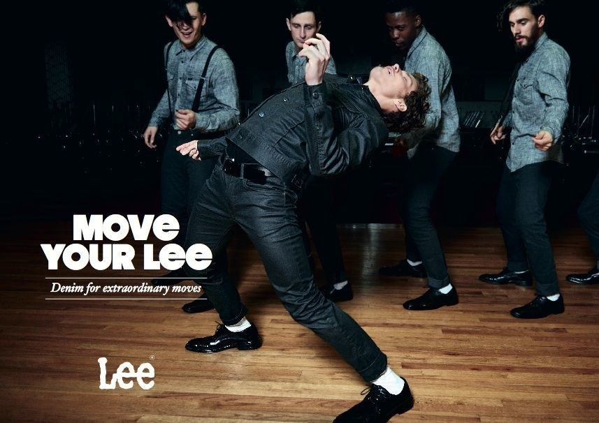 'Move Your Lee FW15 Campaign - Denim in Motion #moveyourlee #moveyourleelondon (PRNewsFoto/LEE)