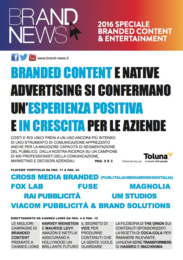 Cover Branded Content 2016