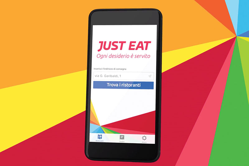 Just Eat torna in tv e va on air in radio per la prima volta. Byte London nuovo partner social