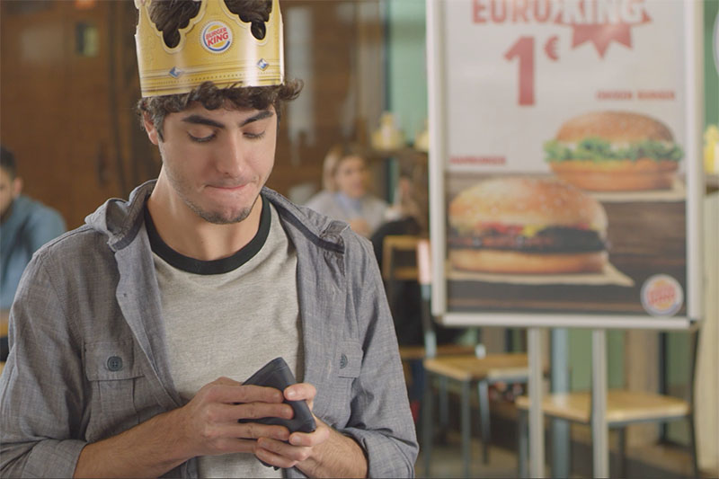 Burger King torna on air per la linea Euro King