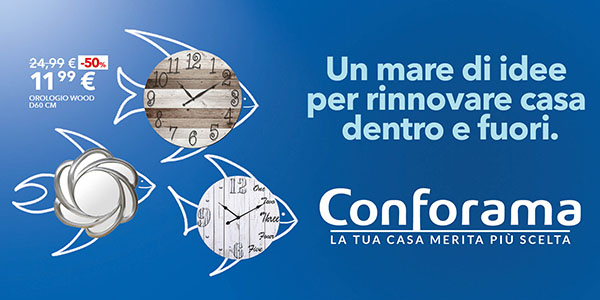 Conforama Mobili San Sperate.Conforama Torna On Air Con Cernuto Pizzigoni Partners