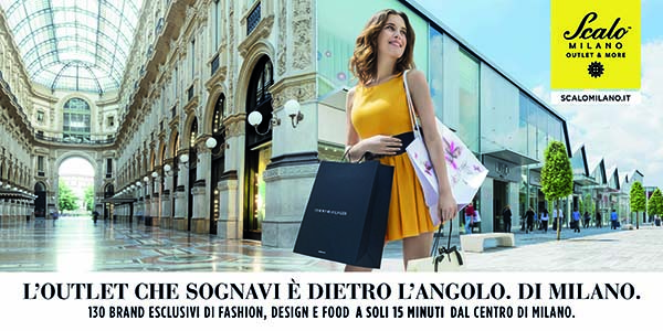 "Scalo Milano diventa ""Outlet & More"" e lo comunica con Red Cell"
