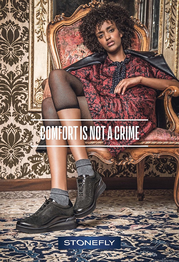 """Comfort is not a crime"", Stonefly lancia i nuovi annunci stampa e web"