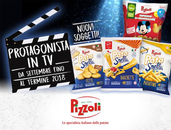 Pizzoli è in tv con Expansion Group