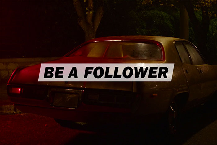 Diesel celebra i follower nella nuova campagna primaverile 'Be a follower', ideata da Publicis Italy