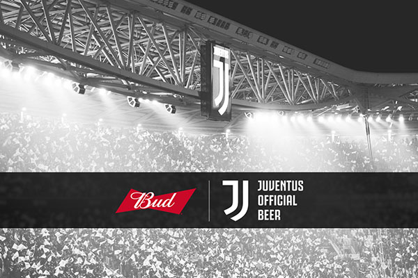 Bud 'official beer' della Juventus per le prossime 3 stagioni