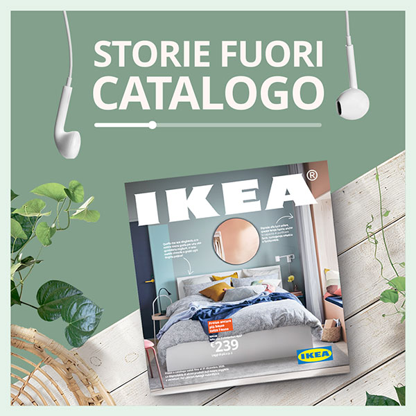 Ikea trasforma il catalogo in un audiolibro su Spotify. La firma è di We Are Social
